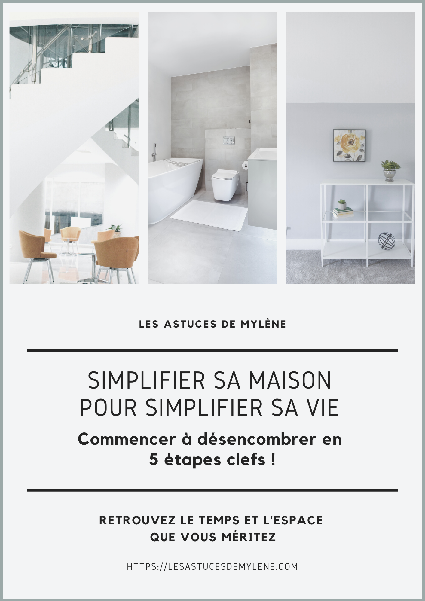 Simplifier sa maison pour simplifier sa vie